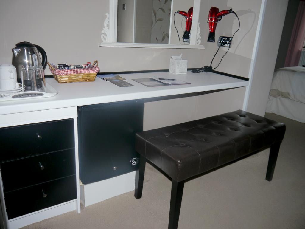 dressing table in the Deluxe Suite